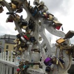 Look at all the padlocks
