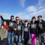 Our kick-ass group of local guides in Dublin