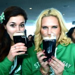 Pouring the perfect pint at the Guinness Storehouse over St. Paddy's in Dublin