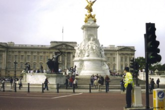 Changing of the Guard, Buckingham Palace, London