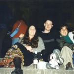 Tracy, Patrick and Me on the Steps of Sacre Coeur, Paris