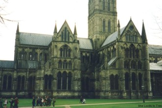 A great view of Salisbury Cathedral