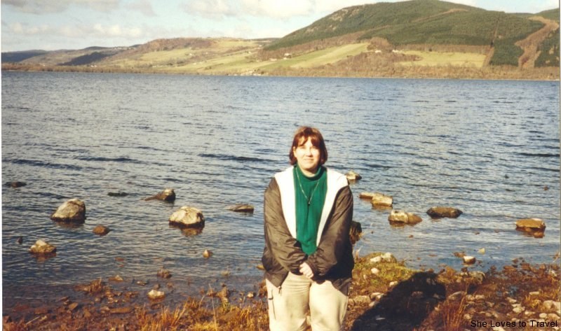 In Front of Loch Ness