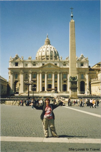 In Front of St.Peter's Basilica