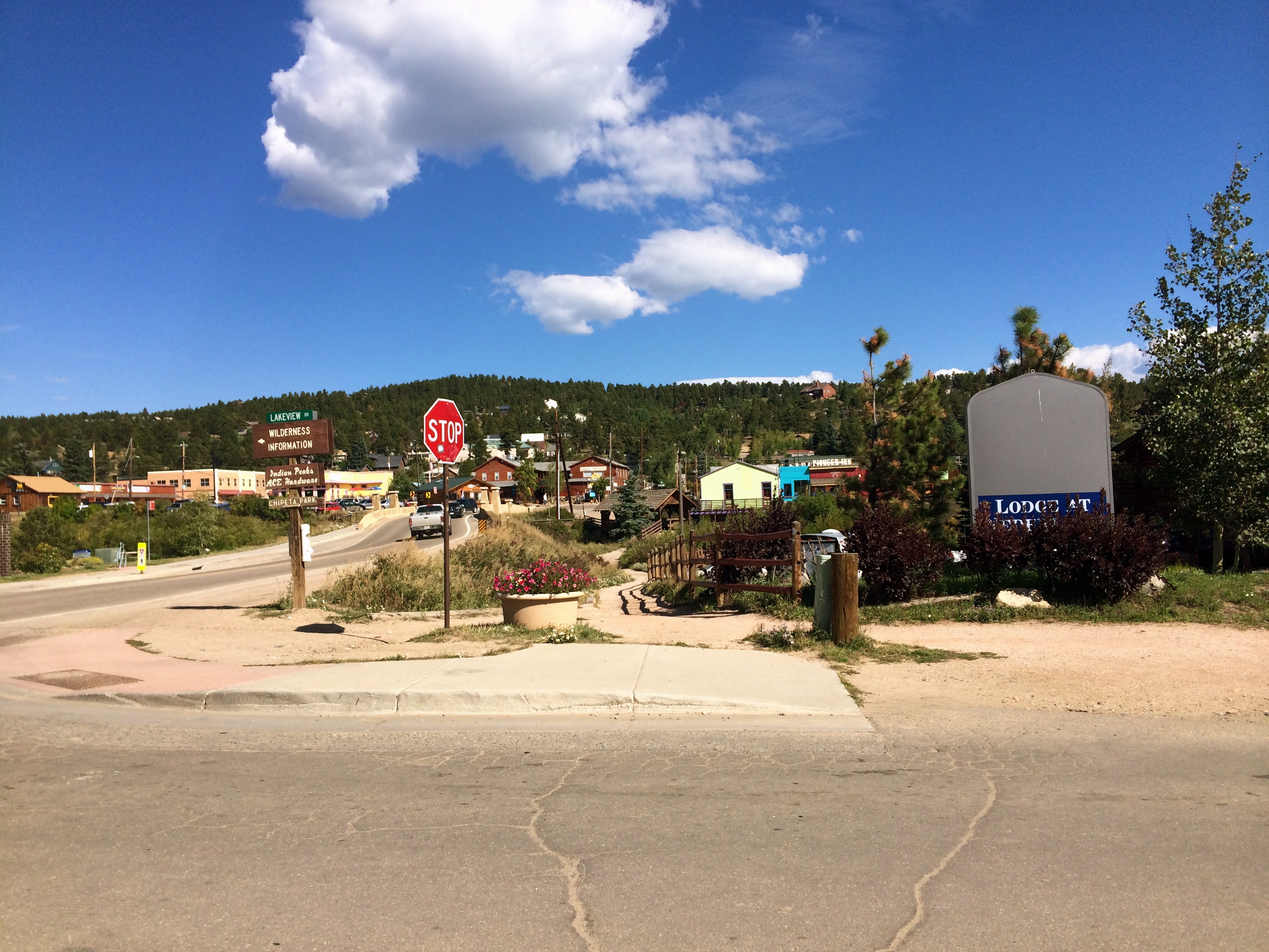 The town of Nederland, CO