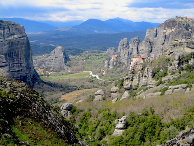 Another favorite destination, perfect for getting in touch with nature and with yourself: Meteora, Greece. These Cliffside Monasteries are UNESCO World Heritage Sites and so enchanting.